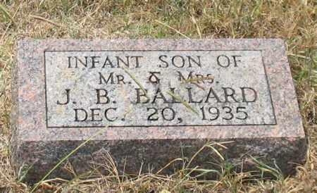 BALLARD, INFANT SON - Saline County, Arkansas | INFANT SON BALLARD - Arkansas Gravestone Photos