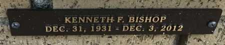 BISHOP, KENNETH F. - Saline County, Arkansas | KENNETH F. BISHOP - Arkansas Gravestone Photos