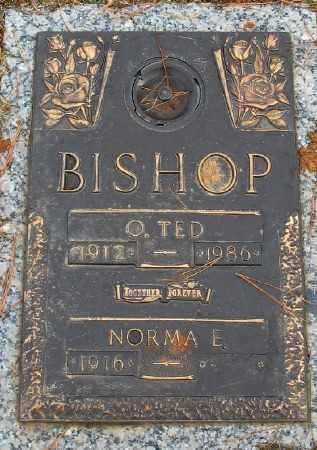 BISHOP, O. TED - Saline County, Arkansas | O. TED BISHOP - Arkansas Gravestone Photos