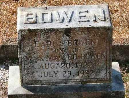 BOWEN, EARL - Saline County, Arkansas   EARL BOWEN - Arkansas Gravestone Photos