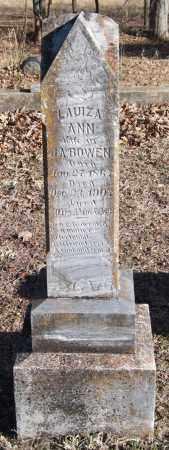 BOWEN, LAUIZA ANN - Saline County, Arkansas | LAUIZA ANN BOWEN - Arkansas Gravestone Photos