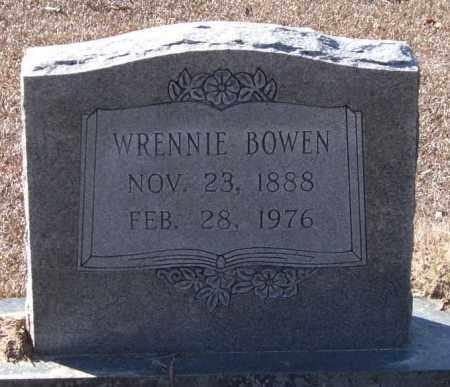 KELLEY BOWEN, WRENNIE - Saline County, Arkansas   WRENNIE KELLEY BOWEN - Arkansas Gravestone Photos