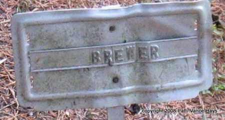 BREWER, UNKNOWN - Saline County, Arkansas | UNKNOWN BREWER - Arkansas Gravestone Photos