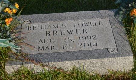 BREWER, BENJAMIN POWELL - Saline County, Arkansas | BENJAMIN POWELL BREWER - Arkansas Gravestone Photos