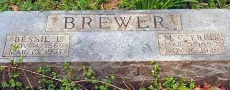 BREWER, BESSIE L - Saline County, Arkansas   BESSIE L BREWER - Arkansas Gravestone Photos