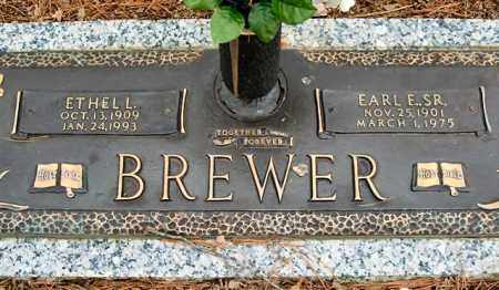 BREWER, ETHEL L. - Saline County, Arkansas | ETHEL L. BREWER - Arkansas Gravestone Photos