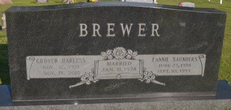 BREWER, GROVER HARLESS - Saline County, Arkansas | GROVER HARLESS BREWER - Arkansas Gravestone Photos