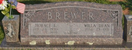 BREWER, HORACE E - Saline County, Arkansas | HORACE E BREWER - Arkansas Gravestone Photos
