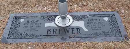 BREWER, RUBYE E. - Saline County, Arkansas | RUBYE E. BREWER - Arkansas Gravestone Photos