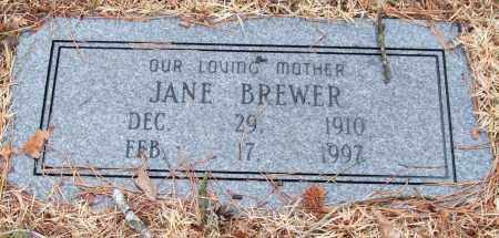 BREWER, JANE - Saline County, Arkansas | JANE BREWER - Arkansas Gravestone Photos