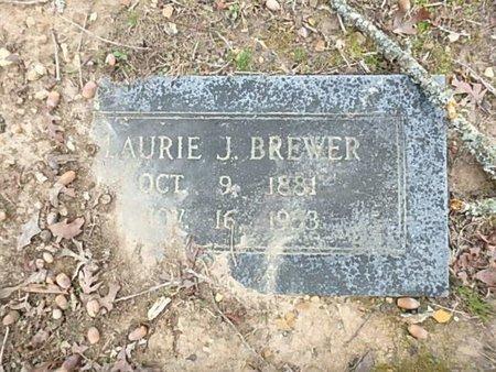 BREWER, LAURIE J. - Saline County, Arkansas | LAURIE J. BREWER - Arkansas Gravestone Photos