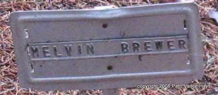 BREWER, MELVIN - Saline County, Arkansas | MELVIN BREWER - Arkansas Gravestone Photos