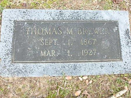 BREWER, THOMAS M. - Saline County, Arkansas | THOMAS M. BREWER - Arkansas Gravestone Photos