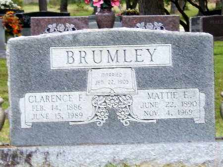 BRUMLEY, CLARENCE F - Saline County, Arkansas | CLARENCE F BRUMLEY - Arkansas Gravestone Photos