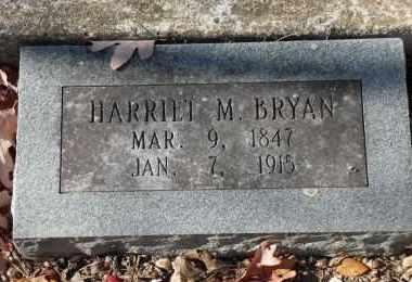 BRYAN, HARRIET M. - Saline County, Arkansas | HARRIET M. BRYAN - Arkansas Gravestone Photos