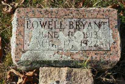 BRYANT, LOWELL - Saline County, Arkansas | LOWELL BRYANT - Arkansas Gravestone Photos