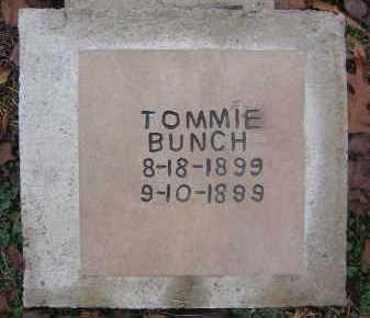 BUNCH, TOMMIE - Saline County, Arkansas | TOMMIE BUNCH - Arkansas Gravestone Photos