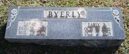 BYERLY, EARLY B. - Saline County, Arkansas   EARLY B. BYERLY - Arkansas Gravestone Photos