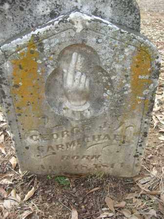 CARMICHAEL, GEORGE J - Saline County, Arkansas | GEORGE J CARMICHAEL - Arkansas Gravestone Photos