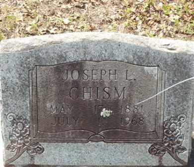 CHISM, JOSEPH L - Saline County, Arkansas | JOSEPH L CHISM - Arkansas Gravestone Photos