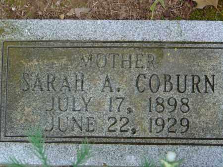 COBURN, SARAH ADALLINE - Saline County, Arkansas   SARAH ADALLINE COBURN - Arkansas Gravestone Photos