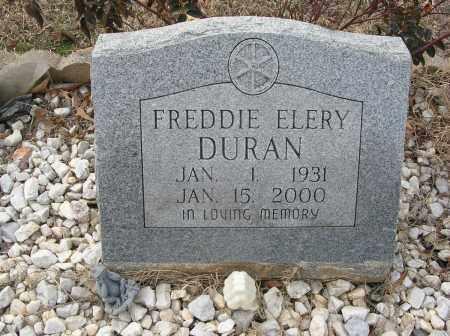 DURAN, FREDDIE ELERY - Saline County, Arkansas   FREDDIE ELERY DURAN - Arkansas Gravestone Photos
