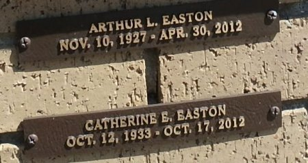 EASTON, ARTHUR L. - Saline County, Arkansas | ARTHUR L. EASTON - Arkansas Gravestone Photos