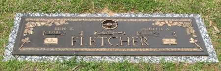 FLETCHER, BEN SHERMAN - Saline County, Arkansas   BEN SHERMAN FLETCHER - Arkansas Gravestone Photos