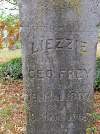 FREY, LIEZZIE (CLOSE UP) - Saline County, Arkansas | LIEZZIE (CLOSE UP) FREY - Arkansas Gravestone Photos