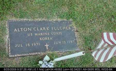 FULCHER (VETERAN KOR), ALTON CLARK - Saline County, Arkansas   ALTON CLARK FULCHER (VETERAN KOR) - Arkansas Gravestone Photos