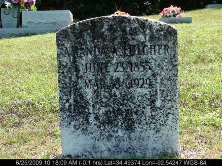 FULCHER, AMANDA A - Saline County, Arkansas | AMANDA A FULCHER - Arkansas Gravestone Photos