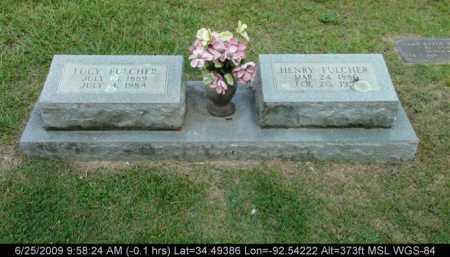 FULCHER, LUCY - Saline County, Arkansas | LUCY FULCHER - Arkansas Gravestone Photos