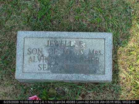 FULCHER, JEWELL E - Saline County, Arkansas   JEWELL E FULCHER - Arkansas Gravestone Photos