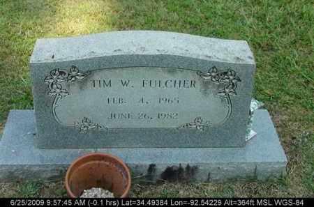 FULCHER, TIM W - Saline County, Arkansas | TIM W FULCHER - Arkansas Gravestone Photos