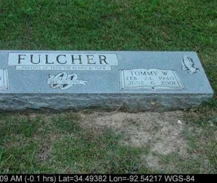 FULCHER, TOMMY W - Saline County, Arkansas | TOMMY W FULCHER - Arkansas Gravestone Photos