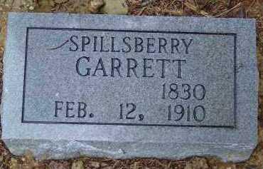 GARRETT, WILLIAM SPILLS BERRY - Saline County, Arkansas | WILLIAM SPILLS BERRY GARRETT - Arkansas Gravestone Photos