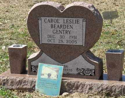 GENTRY, CAROL LESLIE - Saline County, Arkansas   CAROL LESLIE GENTRY - Arkansas Gravestone Photos