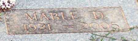 HALE, MABLE DOVE - Saline County, Arkansas   MABLE DOVE HALE - Arkansas Gravestone Photos