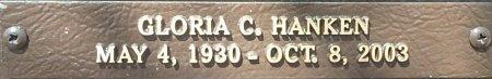 HANKEN, GLORIA C. - Saline County, Arkansas | GLORIA C. HANKEN - Arkansas Gravestone Photos