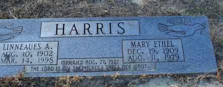 HARRIS, MARY ETHEL - Saline County, Arkansas | MARY ETHEL HARRIS - Arkansas Gravestone Photos