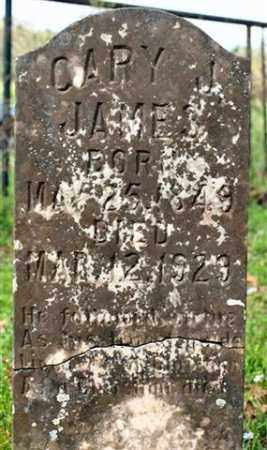 JAMES, CARY J (CLOSEUP) - Saline County, Arkansas | CARY J (CLOSEUP) JAMES - Arkansas Gravestone Photos