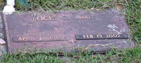 JAMES, LOCIE GLADYS - Saline County, Arkansas | LOCIE GLADYS JAMES - Arkansas Gravestone Photos