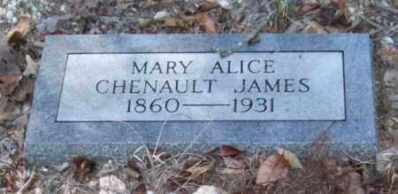 JAMES, MARY ALICE - Saline County, Arkansas   MARY ALICE JAMES - Arkansas Gravestone Photos