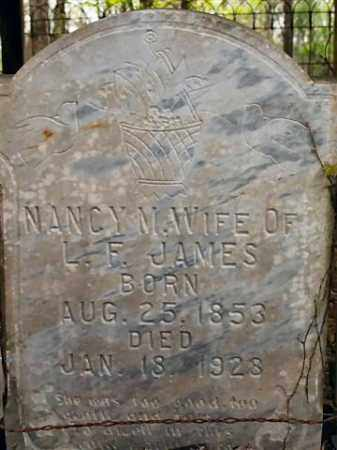 JAMES, NANCY M. - Saline County, Arkansas | NANCY M. JAMES - Arkansas Gravestone Photos