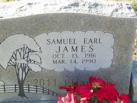 JAMES, SAMUEL EARL - Saline County, Arkansas   SAMUEL EARL JAMES - Arkansas Gravestone Photos