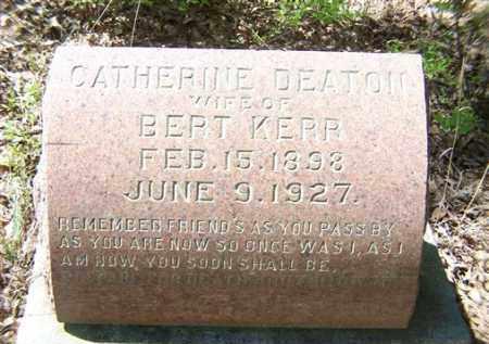 KERR, CATHERINE - Saline County, Arkansas | CATHERINE KERR - Arkansas Gravestone Photos