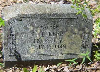 KERR, T. L. - Saline County, Arkansas   T. L. KERR - Arkansas Gravestone Photos