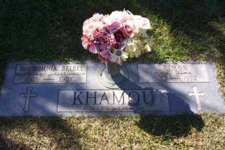 KHAMOU, SHIMON - Saline County, Arkansas   SHIMON KHAMOU - Arkansas Gravestone Photos