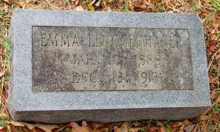 LENGGENHAGER, EMMA - Saline County, Arkansas   EMMA LENGGENHAGER - Arkansas Gravestone Photos