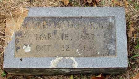 LENGGENHAGER, JOSEPH - Saline County, Arkansas   JOSEPH LENGGENHAGER - Arkansas Gravestone Photos
